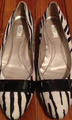 Zebra Print Flat