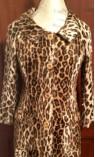 Leopard Print Car Coat