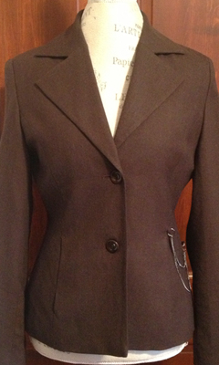 Classic Blazer with Silver Chain Hardware
