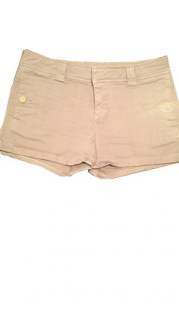 Shorts with Cuffed Hem