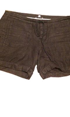 Drawstring Cuffed Shorts
