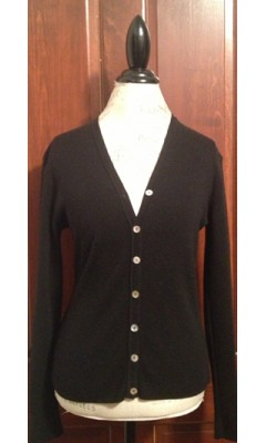 Cardigan with Shiny Buttons