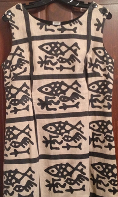 Shift African Print dress