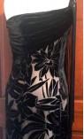 One Shoulder Dress with Fringe Detail